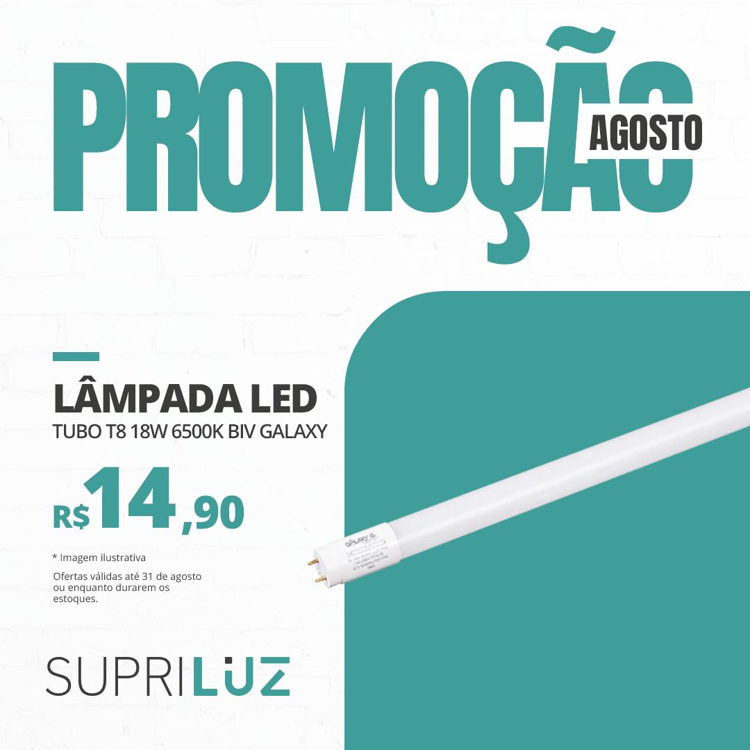 Lâmpada LED Tubo 18w