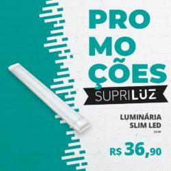Luminária Slim